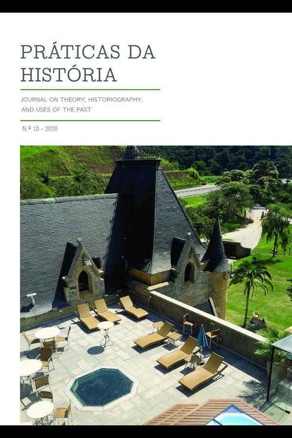 Capa do Nº 10 da revista Práticas da História