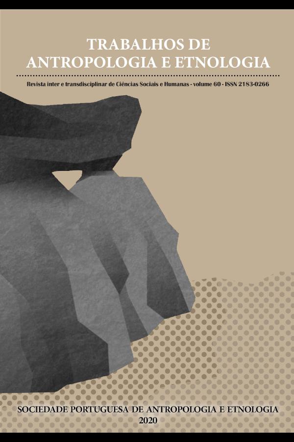 Capa do volume 60 da revista Trabalhos de Antropologia e Etnologia