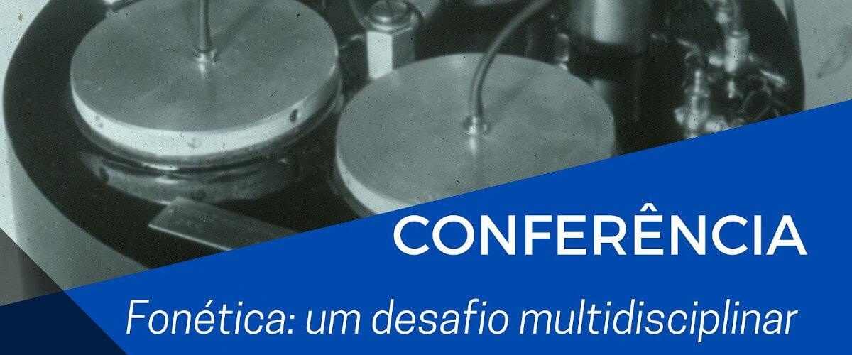 Detalhe do cartaz da conferência