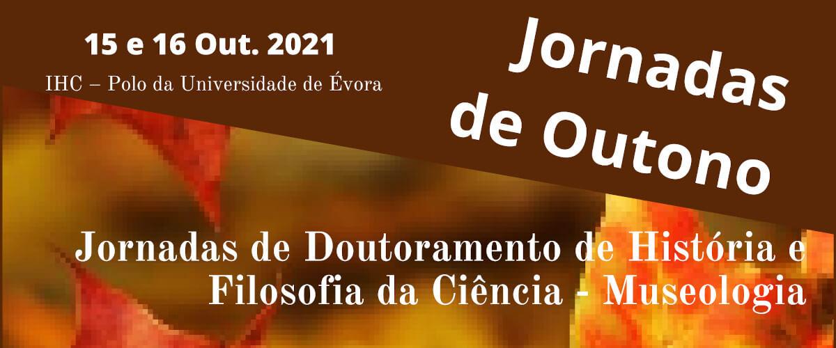 Detalhe do cartaz das Jornadas Científicas de Outono do CEHFCi